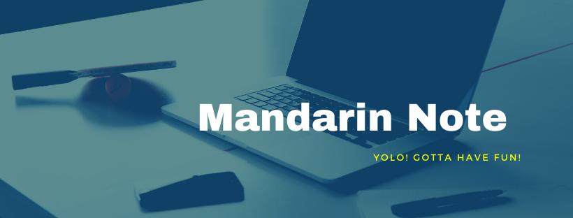 Mandarin Note